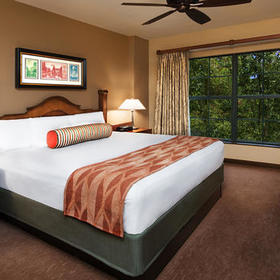 Boulder Ridge Villas at Disney's Wilderness Lodge Bedroom