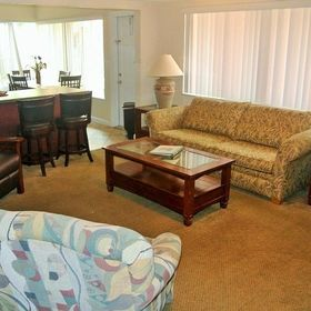 Coral Shores Resort Living Area