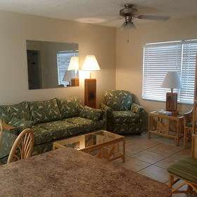 The Islander Resort Living Area