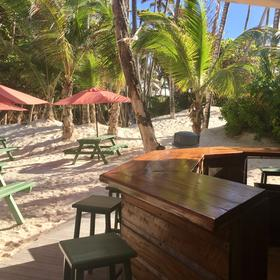 Crane Beach Resort — Great food on the beach