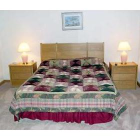 Christmas Mountain Resort — - Unit Bedroom