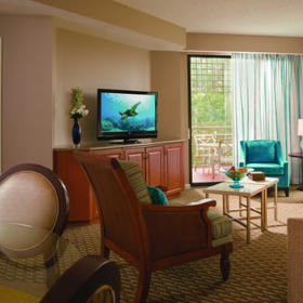 Marriott's Royal Palms Living Area