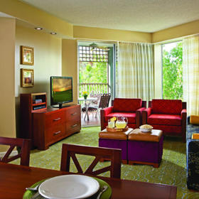 Marriott's Imperial Palm Villas Living Area