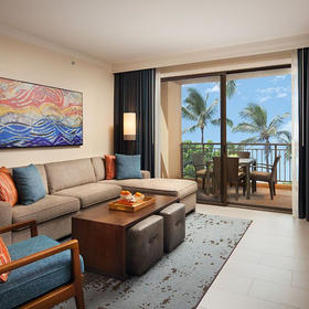 The Westin Nanea Ocean Villas Living Area