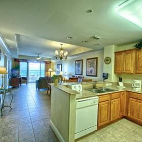 Blue Heron Beach Resort — Kitchen