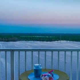 Blue Heron Beach Resort — Balcony