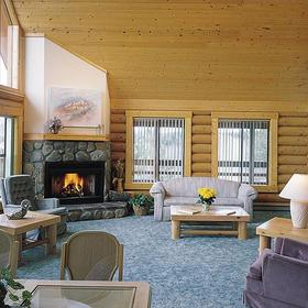 Angel Fire Cabin Share — Living Area