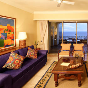 Pueblo Bonito Sunset Beach Resort & Spa Living Area