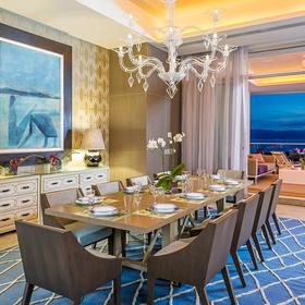 The Residences at Grand Luxxe Nuevo Vallarta — Sample unit dining room