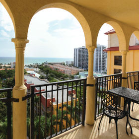 Wyndham Sea Gardens Balcony