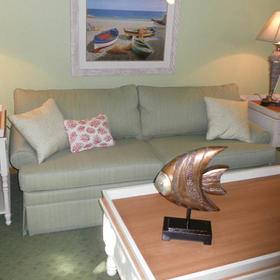Barrier Island's Ocean Pines Beach Living Area