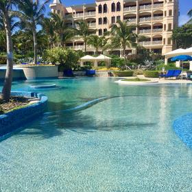Crane Beach Resort — One of five swimming pools