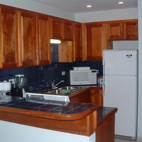 AquaMarina Suites — - Unit Kitchen