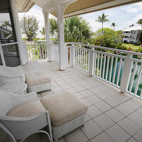 Sanibel Cottages — Balcony