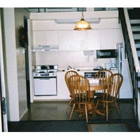 Bear Lake Timeshare - unit kitchen and dining area