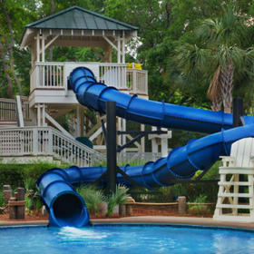 Marriott's Barony Beach Club Water Slide