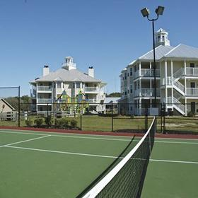Holiday Inn Club Vacations Piney Shores Resort Tennis Court