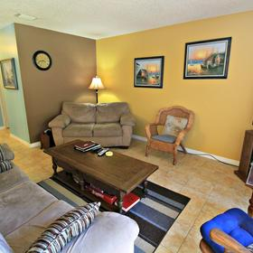 The Townhouses at St. Augustine Beach and Tennis Resort — Living Area