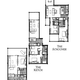 Sample unit floorplans
