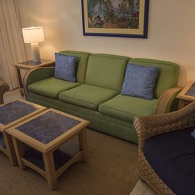 Wyndham Reef Resort Living Area