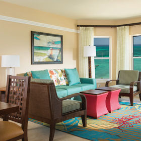 Marriott's Aruba Surf Club Living Area