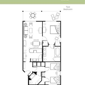 Sample unit floorplan