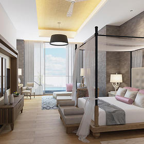 The Residence at Grand Luxxe Riviera Maya — Bedroom