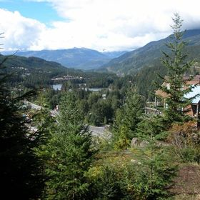 Whiski Jack at Whistler Creek — - View From Resort
