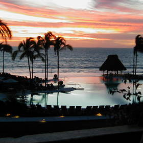 Grand Velas All Suites & Spa Resort - View From Patio