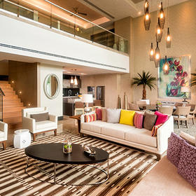 The Residence at Grand Luxxe Riviera Maya — Living Area