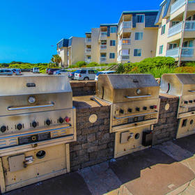 A Place at the Beach - Windy Hill — A Place at the Beach Grilling Area