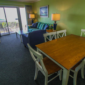 A Place at the Beach - Windy Hill — A Place at the Beach Dining Area