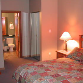 Whistler Vacation Club at Twin Peaks - Unit Guest Bedroom & Bathroom