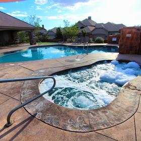 Canyon Villas at Coral Ridge — Hot Tub