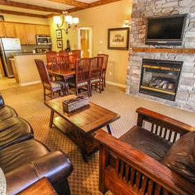 David Walley's Hot Springs Resort and Spa Living Area