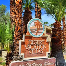 Desert Vacation Villas Entrance