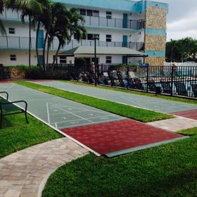 Surf Rider Resort Shuffleboard Court