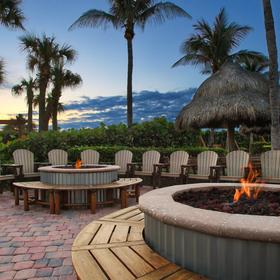 Marriott's Ocean Pointe — Firepit