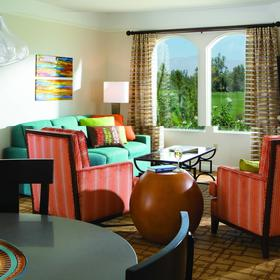Marriott's Shadow Ridge - The Villages Living Area