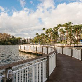 Marriott's Cypress Harbour — Boardwalk