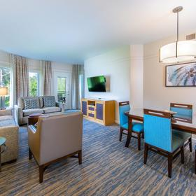 Marriott's Cypress Harbour — Living Area