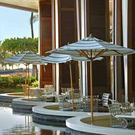 Hilton Grand Vacations Club (HGVC) at Hilton Hawaiian Village Restaurant Seating