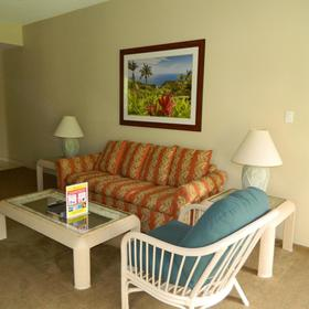Sands of Kahana Vacation Club Living Area