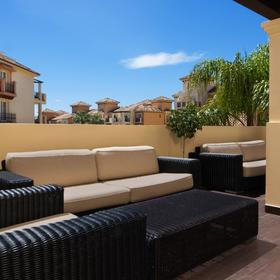Marriott's Marbella Beach Resort Sundeck Seating