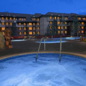 Marriott's Timber Lodge Tahoe Whirlpool