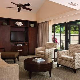 The Westin St. John - Virgin Grand Villas Living Area