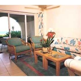 Paradise Island Beach Club - Unit Living Area