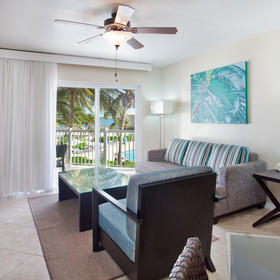 Grand Caymanian Resort — Living Area