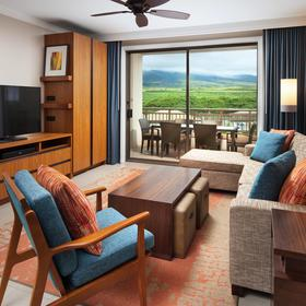 The Westin Nanea Ocean Villas — Living Area