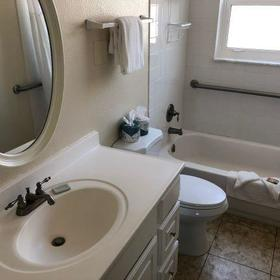 Camelot by the Sea — Bathroom